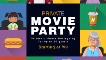 Harkins Introduces Exclusive Private Movie Parties