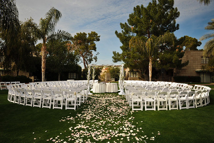 Best wedding venues in phoenix cottage court ceremony3 the arizona biltmore junglespirit