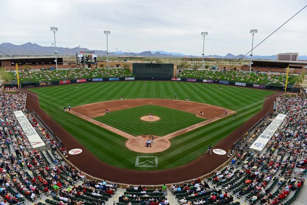 Spring Training: A's vs D-backs