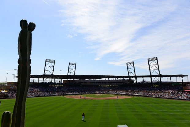 Spring Training: Cubs vs D-backs
