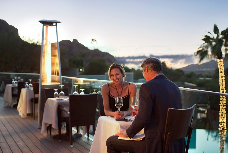 AFM FAVE Best Date Spot elements, Sanctuary on Camelback Mountai