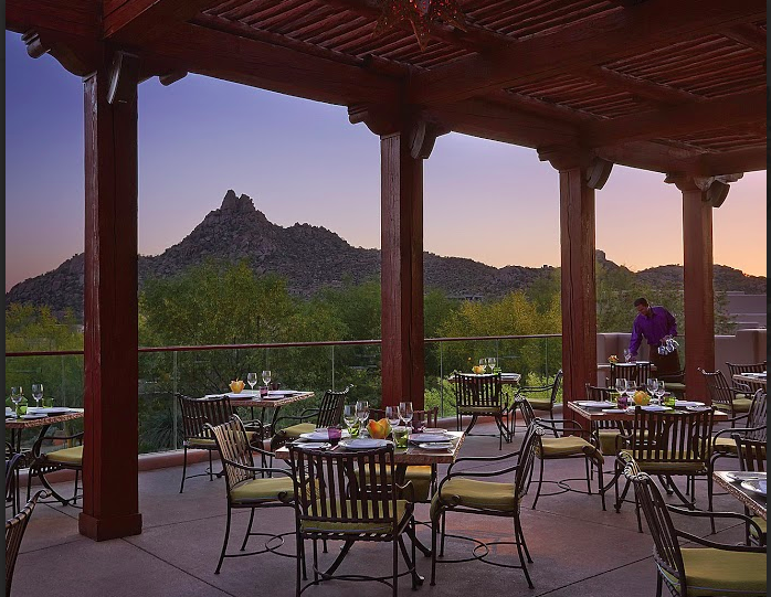 Best Date Spot and Best Outdoor Dining Talavera, Four Seasons Resort Scottsdale at Troon North