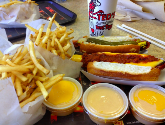Best Hot Dogs Ted's Hot Dogs