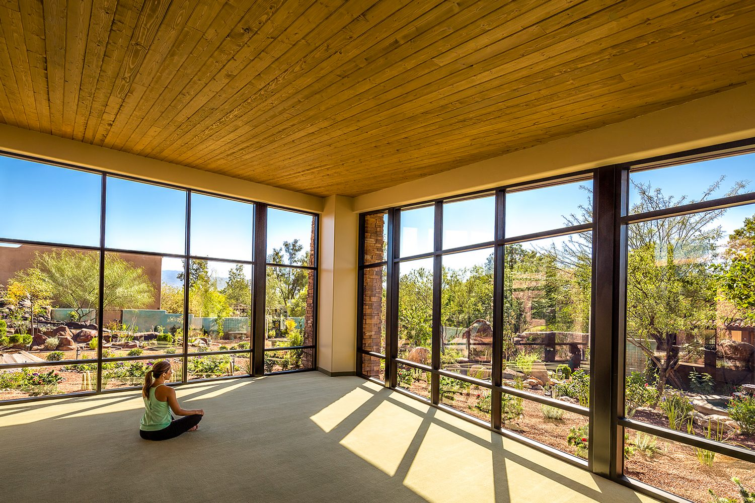 HANDOUT IMAGE: Interior of the Wellness Center at Canyon Ranch Resort in Tucson, Arizona