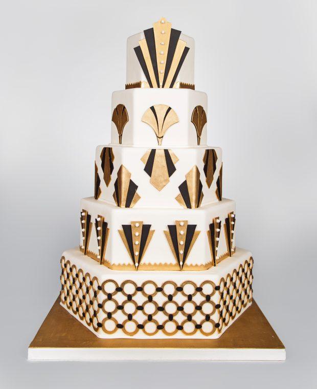 Classic Cakes Art Deco wedding