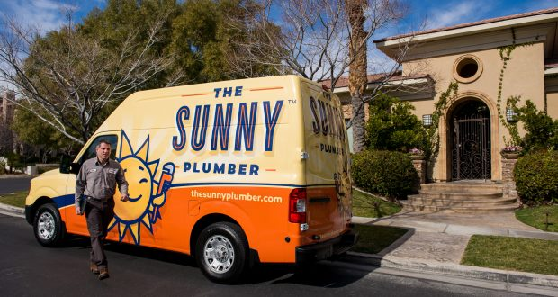 Sunny Plumber with Van4-Cropped