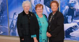 Most Influential in the Valley Education: Sister Joan Fitzgerald, Sister Joanie Nuckols and Sister Lynn Winsor