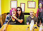 Alice Cooper Launches New Sandwich at Ike's