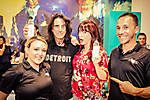 Alice Cooper's The Rock Teen Center Grand Opening of the Leroy Neiman Art Studio