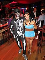 Blue Martini Thriller Halloween