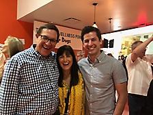 Bob, Sara & Adam Silver