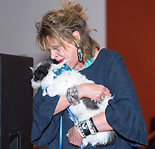 Nancy Silver and Lattie