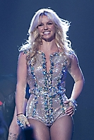 Britney Spears Performs on
