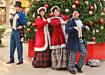Dickens Carolers at Scottsdale Quarter