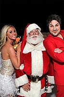 Ludacris-Mas Party: Guests with Santa
