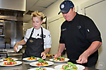 Lunch & Learn - Chef Elizabeth Falkner & Chef Beau MacMillan