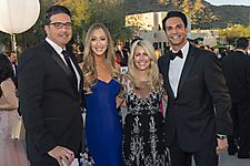 Jay Petkunas, Morgan Manning and Elizabeth and Kaleim Manij