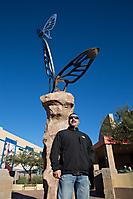 Mariposas Sculpture Unveiling