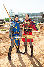 Medieval Times Topping Out Ceremony