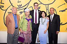 Andrew and Wan Kim, David Roche, Doris and Hong Ong