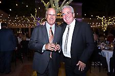 Heard Museum Board Chair John Melamed and Wick Pilcher