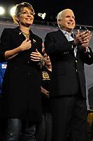 Palin, McCain Rally in Mesa