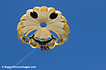 Parasailing Above The Pacific