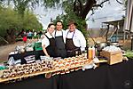 Sam Pillsbury, Maya, Fabio & Chef Mel Mecinas at the Farm