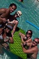Sanctuary Resort's Pool Scene