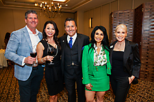 Mike Olsen, Mandy Purcell, Alfredo & Renee Molina, Barb Lytle