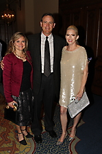 Stephanie and Todd Campbell with Beth McRae