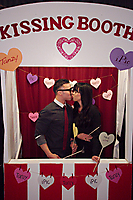 Valentine's Day Kissing Booth at iPic Theaters