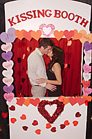 Valentine's Kissing Booth at iPic