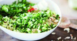 Healthy Recipe: Green Apple and Macadamia Quinoa