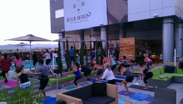 Palomar Hotel to Offer Rooftop Yoga