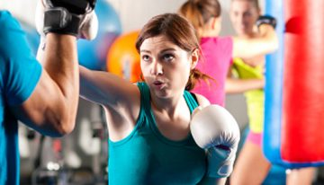 Self Defense Training with a Workout Burn
