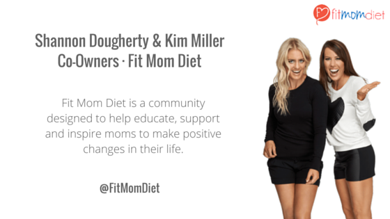 Shannon Dougherty & Kim MillerCo-Owners · Fit Mom Diet-1
