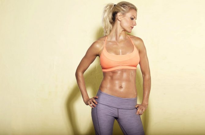 The Secret to Visible Abs: Work Hard