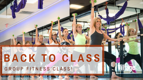 Back to Class – Group Fitness Class!