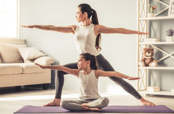 Top 10 Fitness Tips Moms Can Do with Kids
