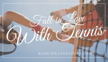 Fall In Love with Tennis