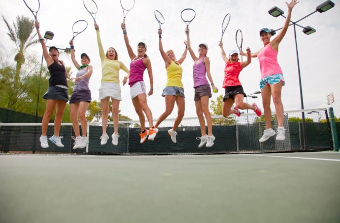 Train to Take Your Tennis Game to the Next Level