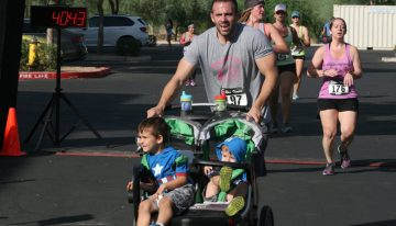 Parent by Example: Make Fitness a Priority