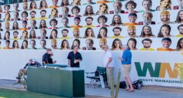 "Fans Can Virtually Be Seen at the Waste Management Phoenix Open with ""Faces on 16"" Program for Charity"