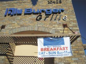 Blu Burger Grille at Hayden Peak