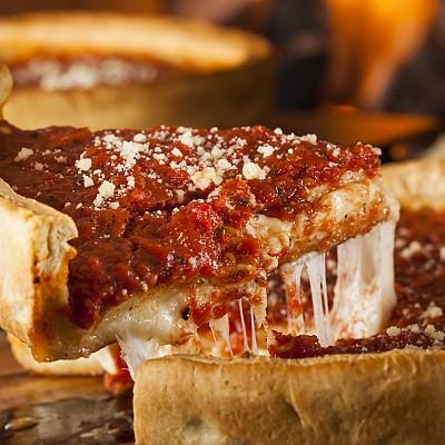 Best Chicago Deep Dish Pizza
