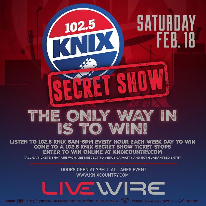 Event - 102.5 KNIX Secret Show