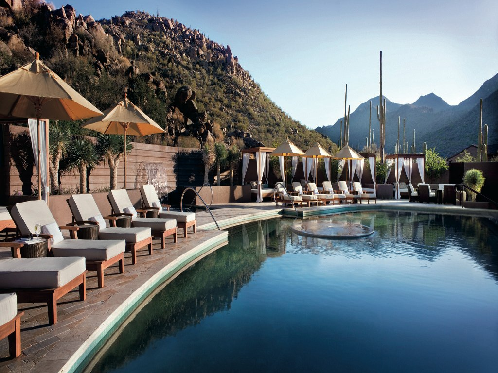 five of the top resorts to escape to in tucson
