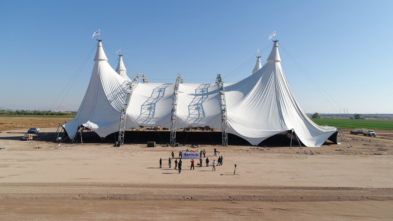 15 Scottsdale AZ Cavalia Odysseo Big Top Raising