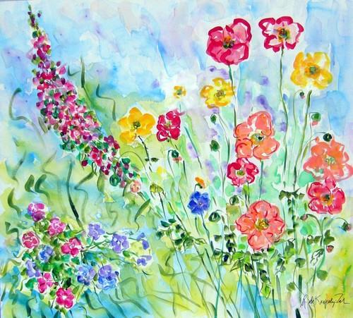 Gallery Andrea Presents Spring Healing Wildflower Art & Fashion ...